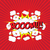 BOOM! comic word Royalty Free Stock Photos
