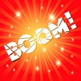 BOOM! Stock Image
