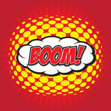 BOOM! comic word Stock Photography