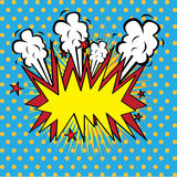 Boom comics icon Stock Images