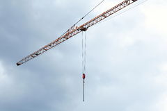 Boom of crane tower Stock Photography
