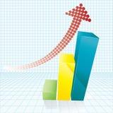 Boom-dimensionale grafiek Stock Foto