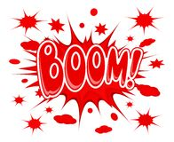 Boom explosion icon Royalty Free Stock Image