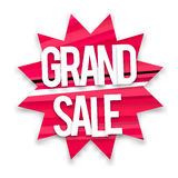 Boom grand sale Stock Images