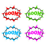 Boom icon Royalty Free Stock Photos