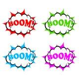 Boom icon Royalty Free Stock Photos