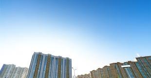 Boom immobilier Image libre de droits