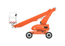 Boom lift Royalty Free Stock Image
