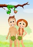 Boom met appel Royalty-vrije Stock Afbeelding