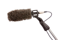 Boom Microphone Windshield Royalty Free Stock Images