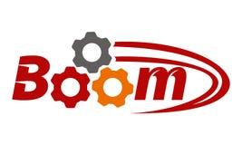 Boom Quick Marketing. Logo Design Template Vector Royalty Free Stock Photos
