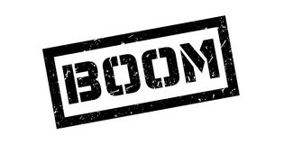 Boom rubber stamp Royalty Free Stock Photo
