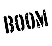 Boom rubber stamp Stock Photos
