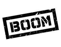 Boom rubber stamp Stock Photography