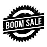 Boom Sale rubber stamp Royalty Free Stock Image