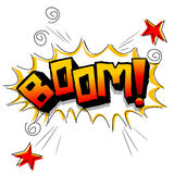 Boom with stars Stock Photography