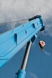 Boom truck crane Stock Images
