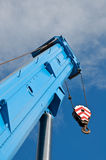 Boom truck crane Stock Image