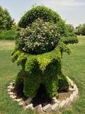 boom in tuin Royalty-vrije Stock Afbeeldingen
