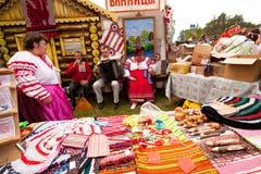 Boom van het Leven - de nationale cultuur van Vepsian van de Vakantie Stock Foto's