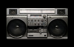 BOOMBOX from 1980s Royalty Free Stock Photo