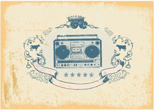 Boombox Royalty Free Stock Images