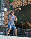 BoomBox rock band performs at Atlas Weekend festival. Kiev, Ukraine. Stock Photo
