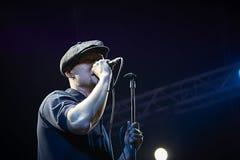 BoomBox am Solo- Konzert an Zaxidfest-Festival Lizenzfreie Stockbilder