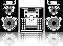 BoomBox Stereo Royalty Free Stock Photos