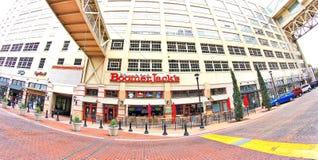 Boomer Jack bei Montgomery Plaza, Fort Worth Texas Lizenzfreies Stockfoto