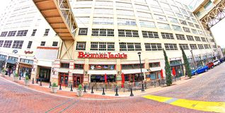 Boomer Jack's at Montgomery Plaza, Fort Worth Texas Royalty Free Stock Photo