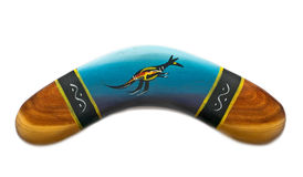 Boomerang image libre de droits
