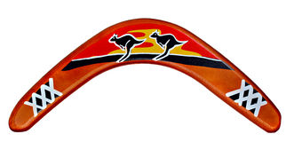 Boomerang Royalty Free Stock Photo