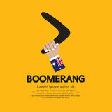 Boomerang. Photographie stock