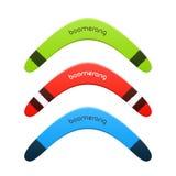 Boomerang Royalty Free Stock Images