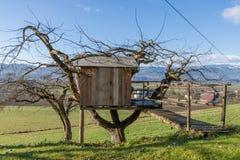 Boomhuis - Plattelandshuisje - Landbouwbedrijf Royalty-vrije Stock Foto's