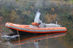 Booming Boat Royalty Free Stock Photography
