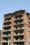 Booming construction industry. Of india, new housing projects at delhi suburb, indirapuram in U.P Royalty Free Stock Image