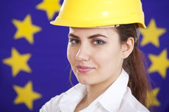 Booming european industry Stock Photos