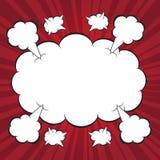 Boomkarikaturhintergrund stock abbildung