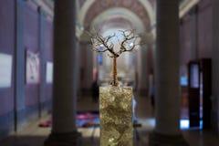 Boomvoorwerp in Milan Cathedral Museum royalty-vrije stock fotografie