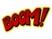 Boomwortcomic-buch-Pop-Arten-Vektorillustration Lizenzfreie Stockbilder