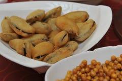 Boon gebakje-Mandarin eend hete pot Royalty-vrije Stock Afbeelding