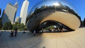 Boon 2 van Chicago stock video