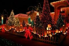 bożonarodzeniowe światła Zdjęcie Royalty Free