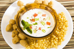 Boondi Raita Royalty Free Stock Images