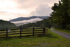 Boone的地标在夏天 免版税库存图片