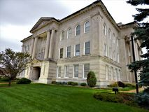 Boone County Courthouse Lebanon Indiana royalty free stock photography