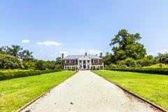 Boone Hall Plantation et jardins images stock