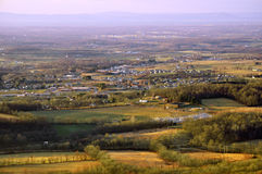 Boonsboro MD from South Mountain Stock Image